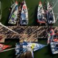 Vendee Globe 2012 aerial start