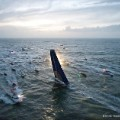 Vendee Globe 2012 start flotilla