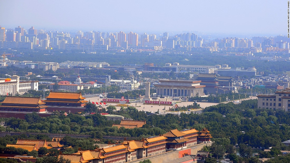 This aerial photo -- with the Forbidden City and Tiananmen Square at its center and the hugely altered skyline in the background -- show's how Beijing has changed. Many cities across China underwent some of the most rapid urban development the world has ever seen over the past thirty years.