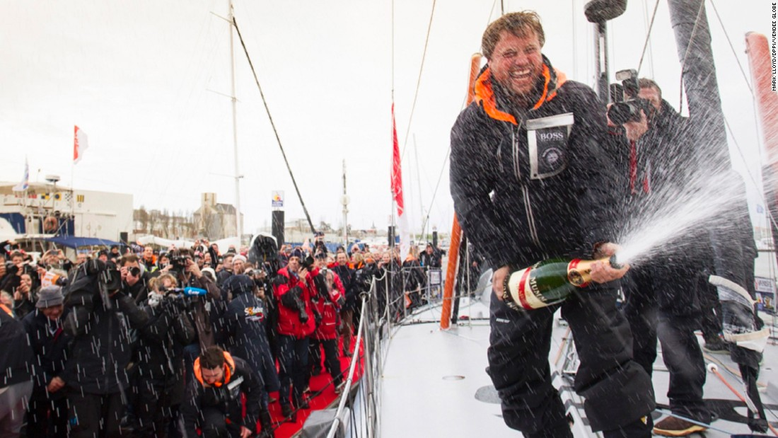 British sailor Alex Thompson came third in 2013, finishing in 80 days and 19 hours. After damage to his boat forced him to pull out in both 2004 and 2008, this year's race will be his fourth attempt.