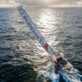 Vendee Globe start 2012 sunset