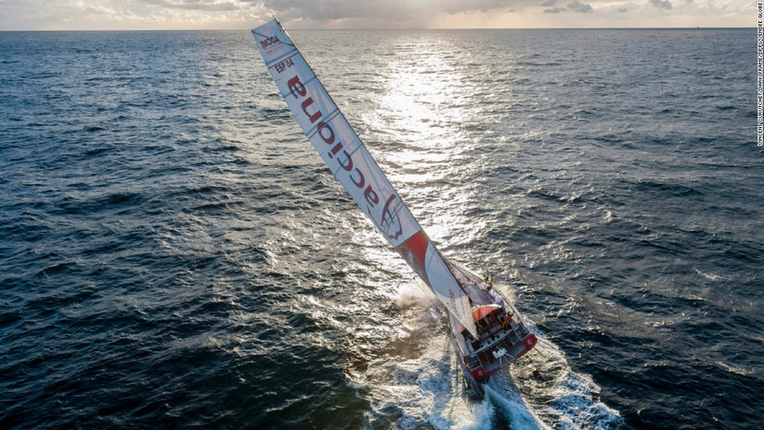 The Vendee Globe is a non-stop, solo, 28,000 mile race around the world's three southern capes. With the risk of heavy storms, colossal waves and potential damage to boats, competitors have only a 50% chance of finishing.