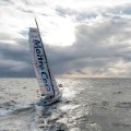 Vendee Globe 2012 cloudy sea