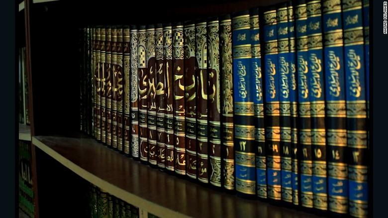 Syria's underground library