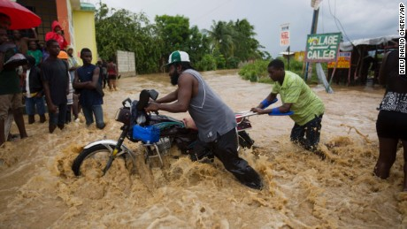 Rescue workers in Haiti struggled to reach cutoff towns and learn the full extent of the death and destruction caused by Hurricane Matthew.