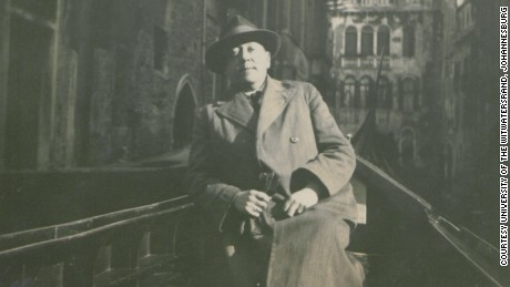 Victor von Koerber, originally thought to have written the biography, is pictured in Venice in 1926.