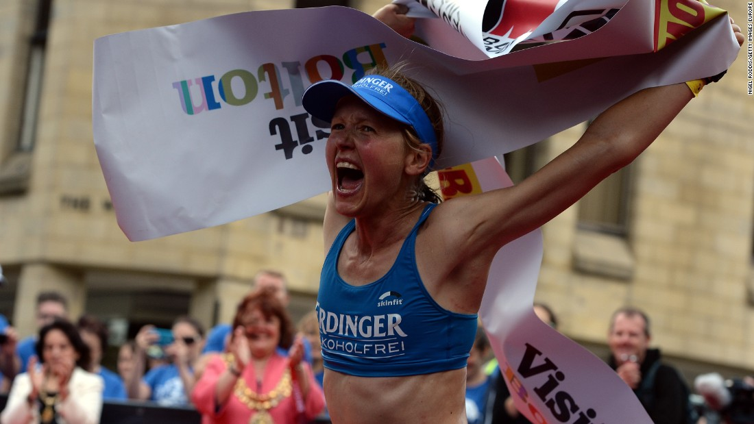 Lucy Gossage is a cancer doctor by profession but has become one of the world's leading Ironman triathletes.