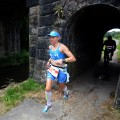 lucy gossage running tunnel
