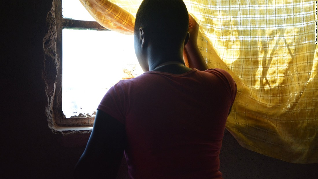 Like her mother, Wendy took to prostitution to escape the grips of poverty. At 16, she has now returned to school and left the world of sex work behind, and is part of a program in the area run by Plan.<br />