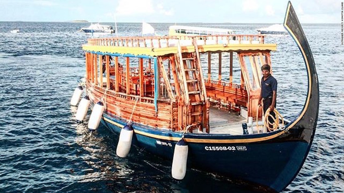 A dhoni is a traditional Maldivian boat. Most Maldives tour companies and resorts can arrange a variety of dhoni excursions and experiences.