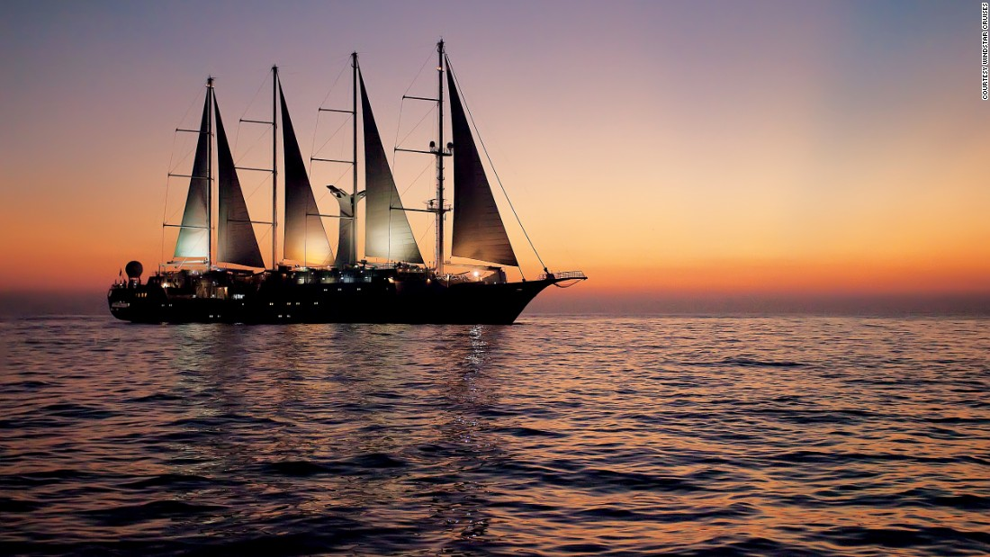 Windstar Cruises, known for its intimate small ship and yacht cruises, took the prize for best luxury cruises for romance.