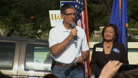 Joe Heck heckled while disavowing Donald Trump_00000000