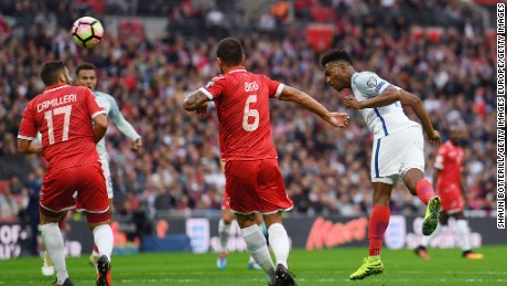 Sturridge scored England's opener against minnows Malta.
