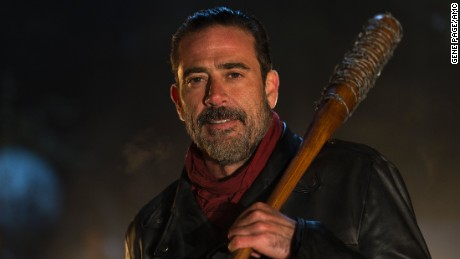 Jeffrey Dean Morgan as Negan in the 'The Walking Dead.'
