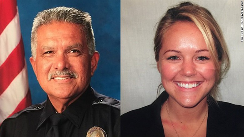 Two police officers killed, one wounded in Palm Springs
