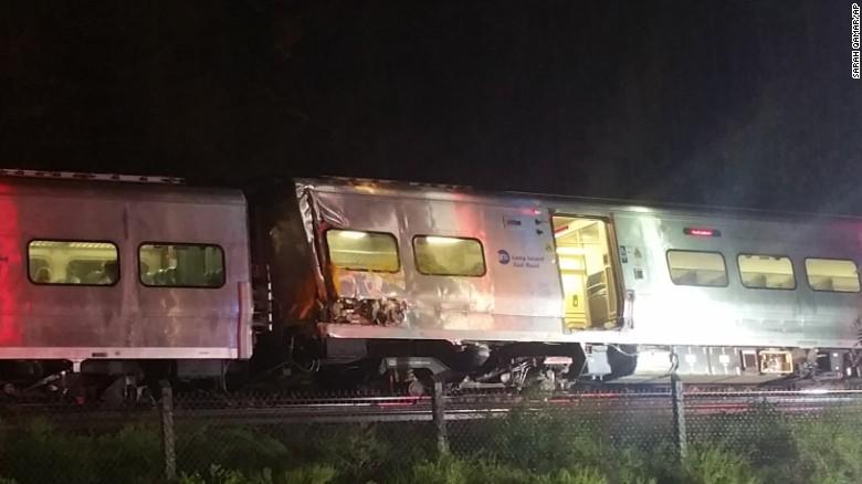 Gov. Cuomo: NTSB to investigate Long Island derailment