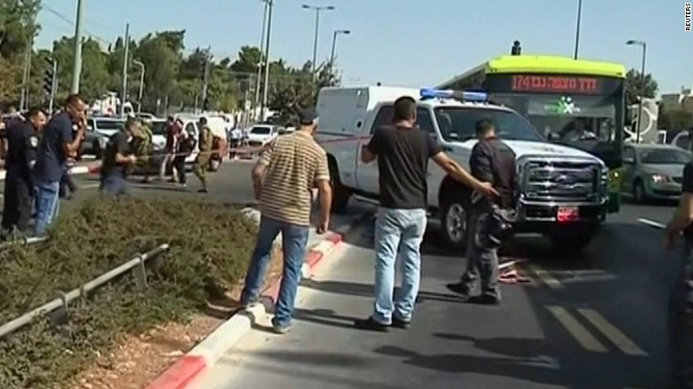 Drive-by shooting, shootout in Jerusalem