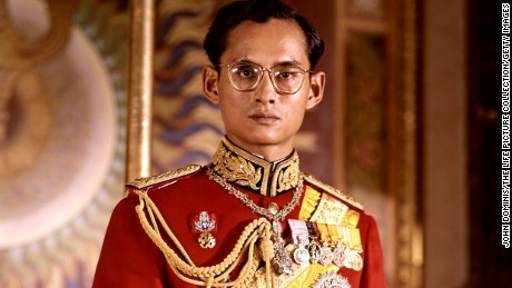 Thailand's King Bhumibol Adulyadej: A life in pictures