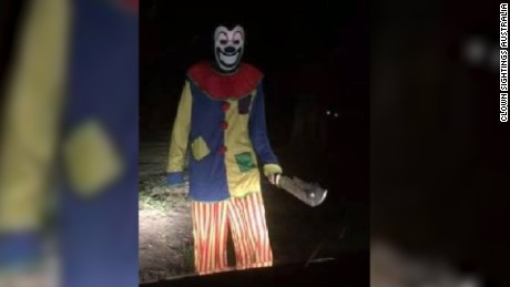 Creepy clown sightings