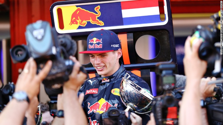My First Car: Red Bull's Max Verstappen