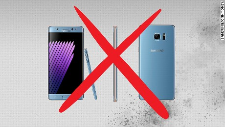cnnmoney samsung kills note 7