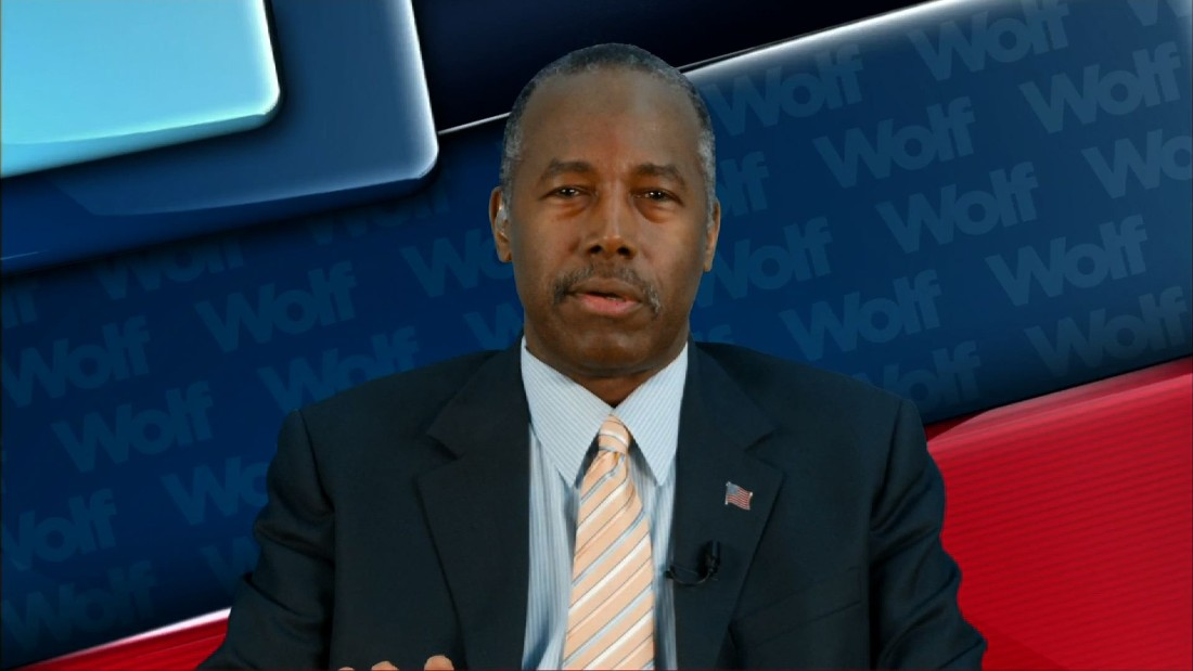 Ben Carson did not live in public housing