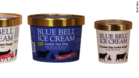 Blue Bell, Blue Bunny recall cookie dough ice cream