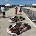 emerson fittipaldi and son go karting