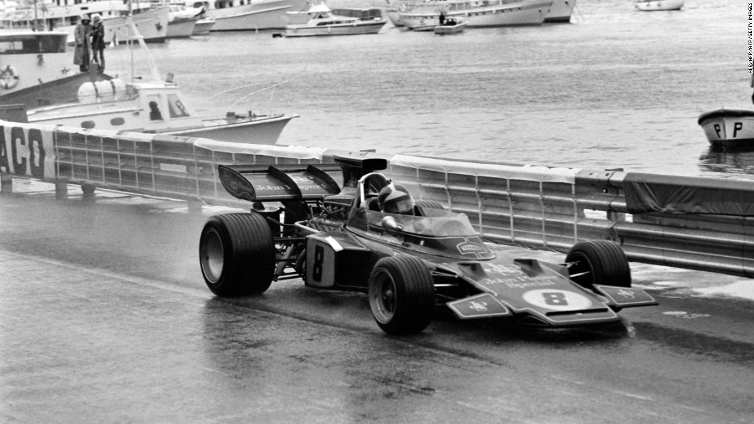 Brazilian Fittipaldi won the 1972 F1 world championship for the Lotus-Ford team. He is credited with inspiring many Brazilians to join the F1 grid.