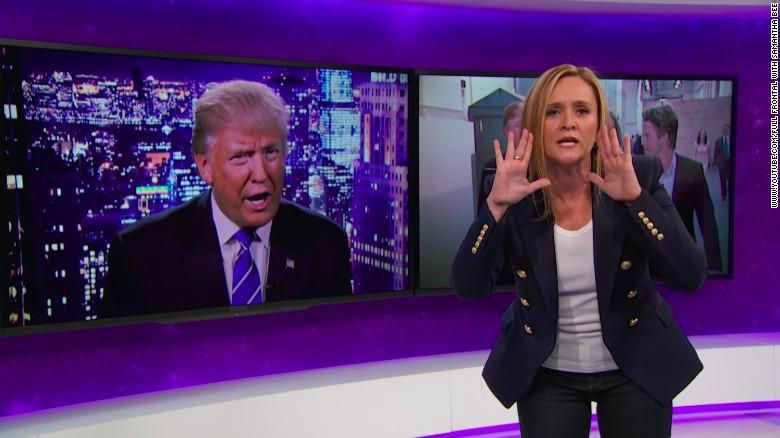 Samantha Bee stings Donald Trump
