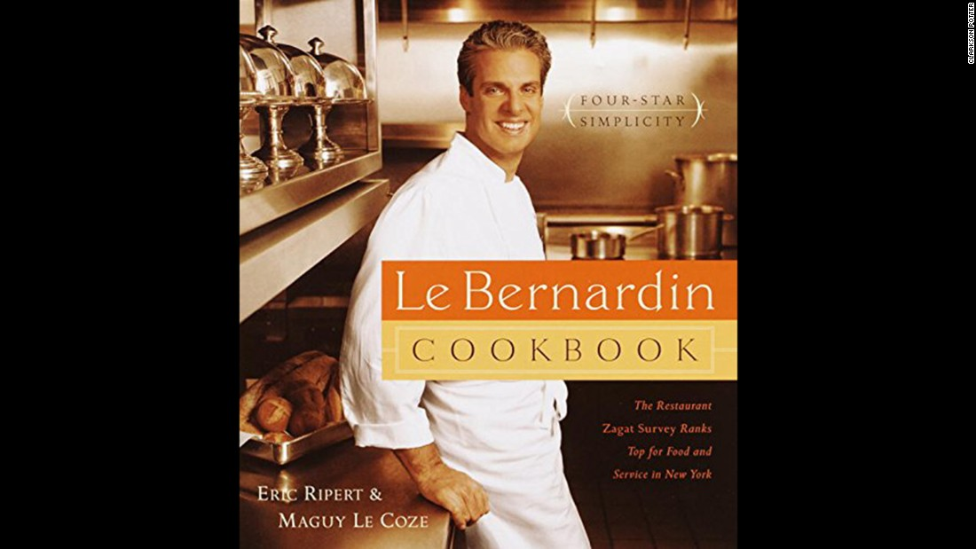 "<strong>Seafood -- </strong>""Le Bernardin Cookbook: Four-Star Simplicity"" contains French-born chef Eric Ripert's classic recipes."