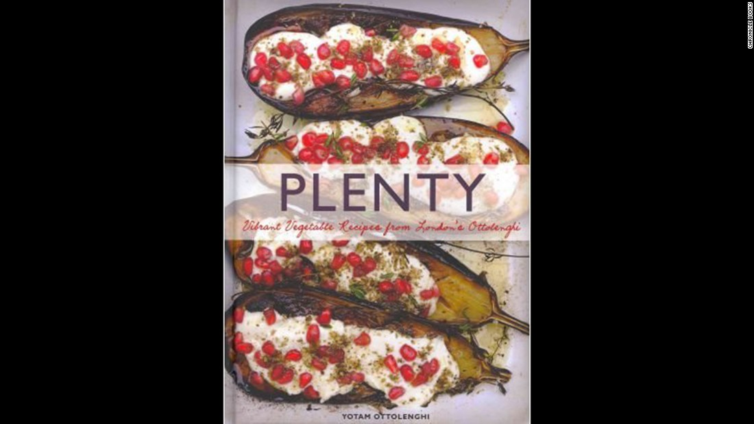 "<strong>Vegetarian -- </strong>""Plenty: Vibrant Vegetable Recipes from London's Ottolenghi"" appeals to vegetarian and meat-eating vegetable lovers alike."
