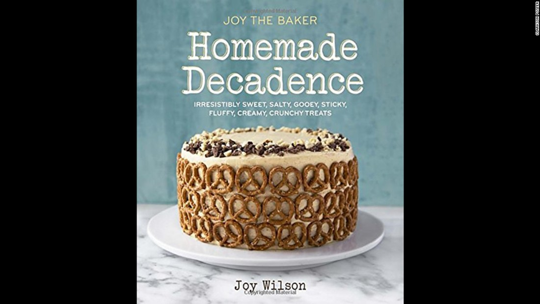 "Amazon senior editor Seira Wilson picked 100 books to cover a lifetime of eating and drinking. ""Joy the Baker Homemade Decadence: Irresistibly Sweet, Salty, Gooey, Sticky, Fluffy, Creamy, Crunchy Treats"" is one of the baking category recommendations. Click through the gallery to see 19 more selections from the list."