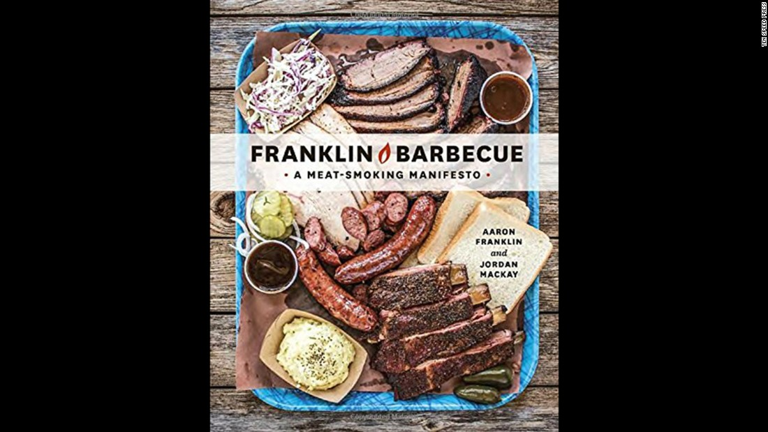 "<strong>Barbecue -- </strong>""Franklin Barbecue: A Meat-Smoking Manifesto"" is one of two barbecue books on the list."