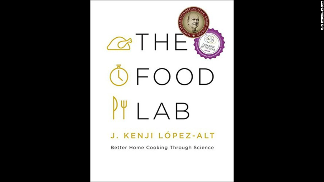 "<strong>Foodie cookbook -- </strong>J. Kenji Lopez-Alt, managing culinary director of Serious Eats, and author of ""The Food Lab"" column, uses science to answer questions about home cooking in ""The Food Lab: Better Home Cooking Through Science."""