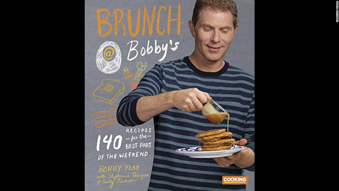 "<strong>Breakfast -- </strong>Chef Bobby Flay explores the most important meal of the day in ""Brunch at Bobby's: 140 Recipes for the Best Part of the Weekend."""