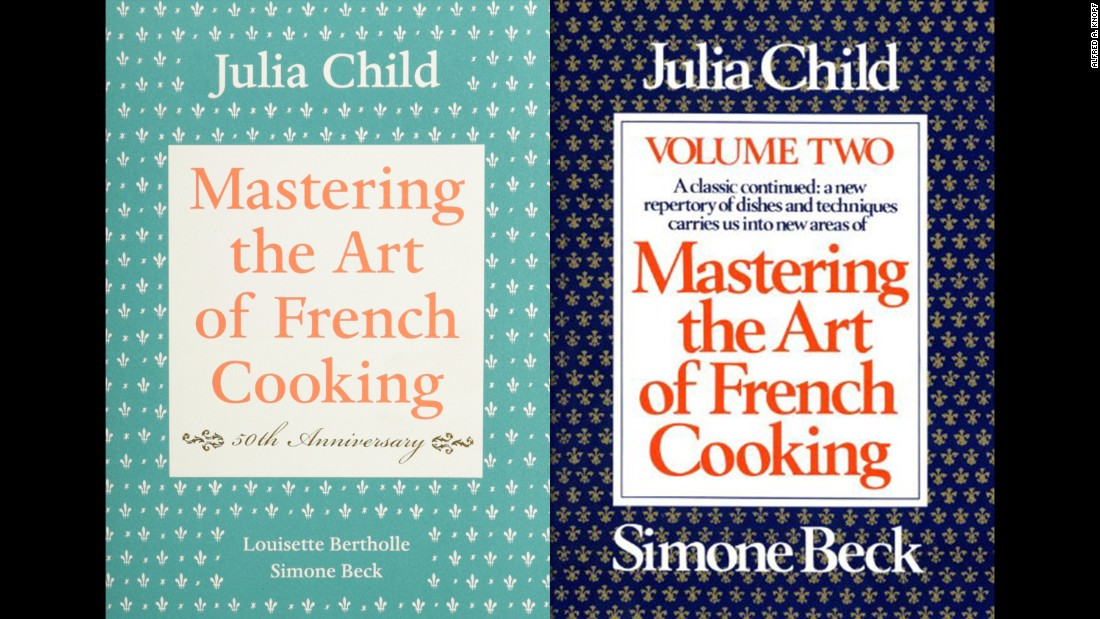 "<strong>Classic -- </strong>American cook Julia Child transformed American cooking with her two-volume set, ""Mastering the Art of French Cooking."""