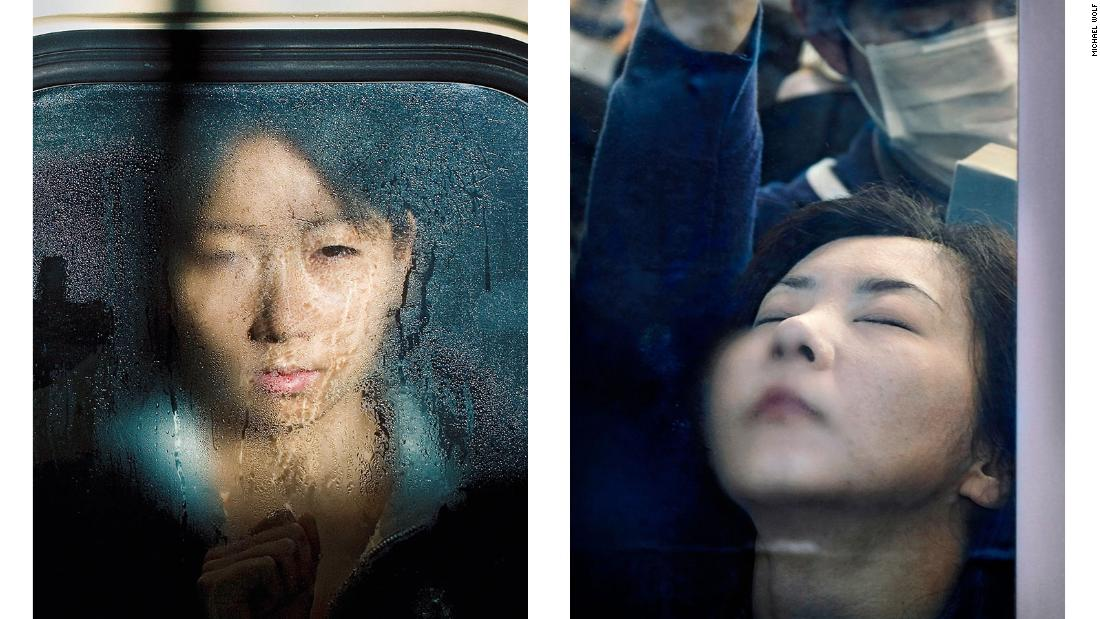 """Tokyo Compression"" captures rush hour in the city."