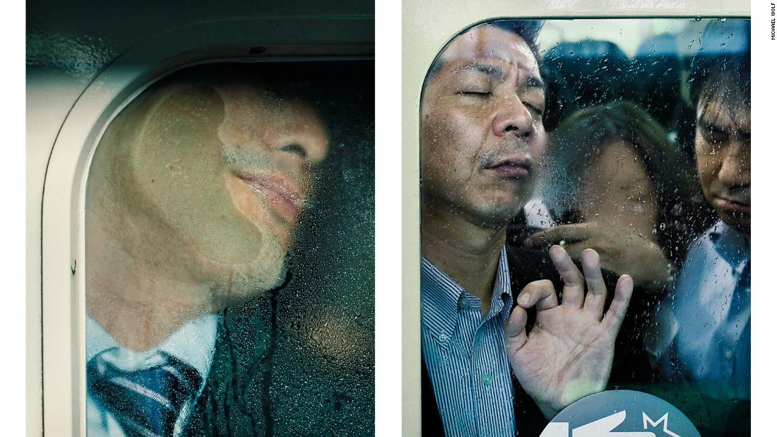 Photographer Michael Wolf is best known for his portrayals of real life in large cities around the world.