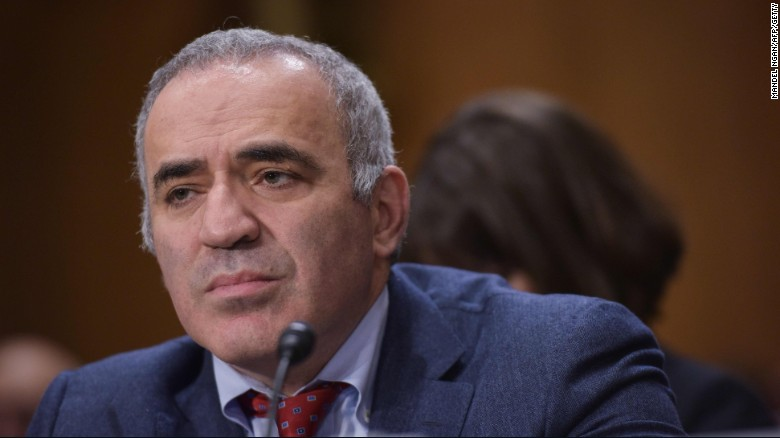 Garry Kasparov: Trump victory could threaten democracy