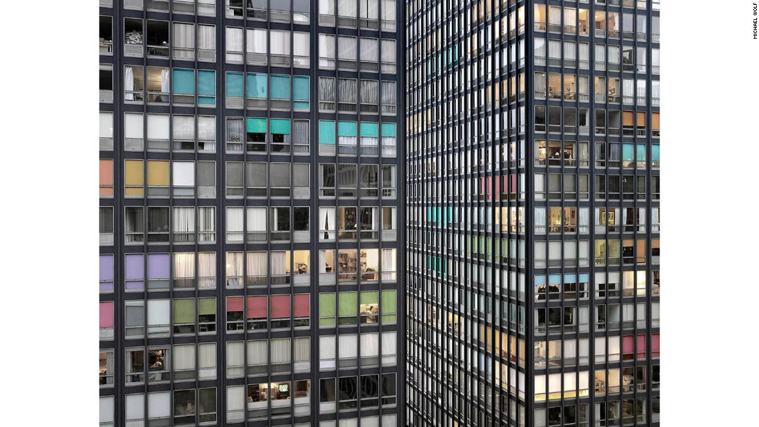 "Wolf's ""Transparent City"" series looks at architecture and living in Chicago."