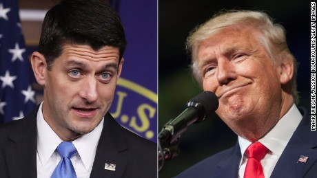 "Trump on Ryan: ""I don't want his support"""