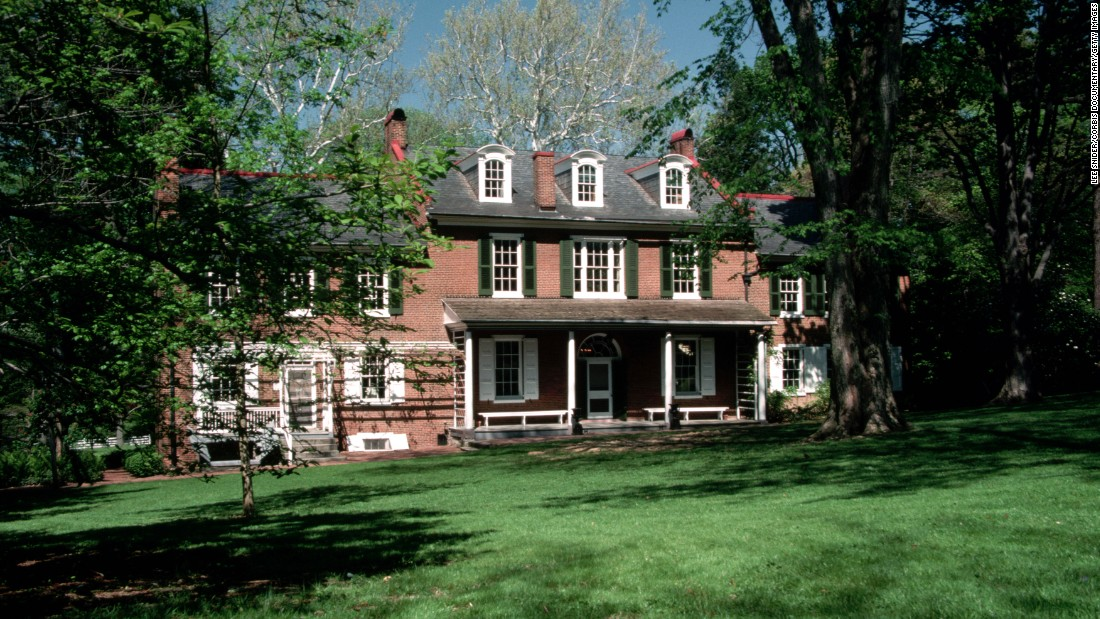 <strong>James Buchanan's Wheatland, Pennsylvania </strong>-- Lifelong bachelor Buchanan's home near Lancaster served as refuge after his single term in office leading up to the Civil War.