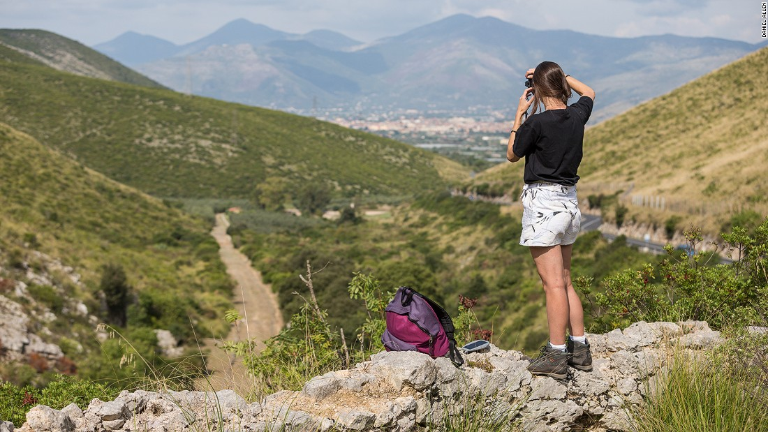 One of the five Italian Wonder Ways, the Via Francigena is a medieval walking trail that extends from Canterbury, through France and Switzerland, to Rome, and then onward to Jerusalem.