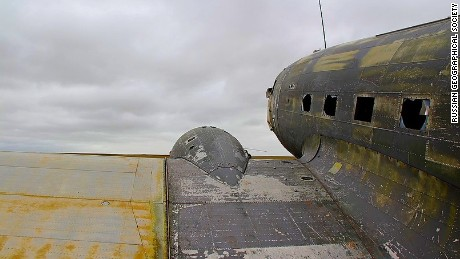 The Douglas C-47 will eventually go on display at the Museum of the Exploration of the Russian North.