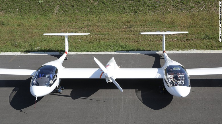 The plane that runs on hydrogen and emits only water