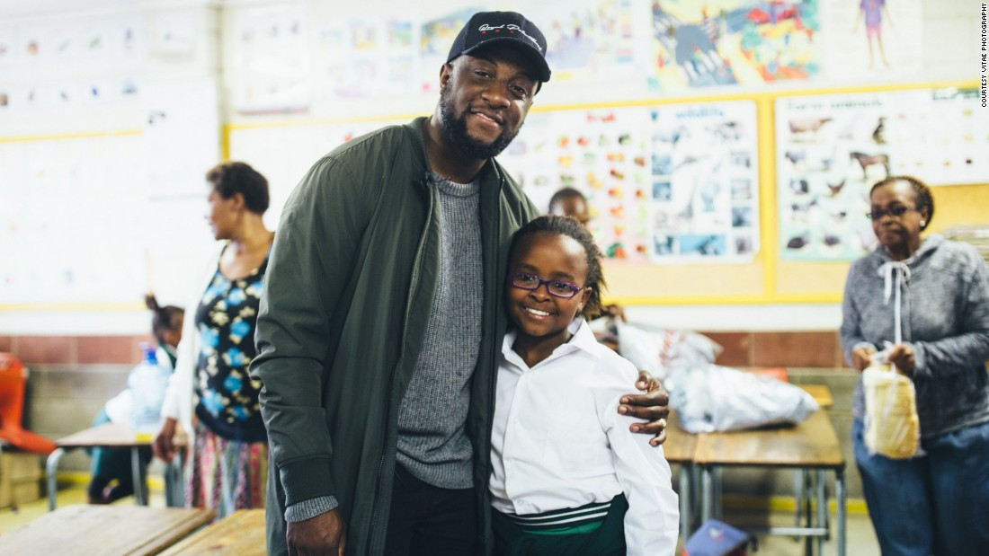 London-based William Adoasi and his team are changing the lives of young children in South Africa by providing them with school uniforms, bought with money from sales of his watches.