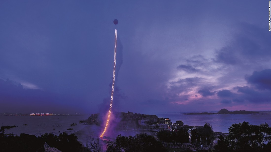 "The documentary ""Sky Ladder"", Cai Guo-Qiang's most ambitious project to-date, is now on Netflix."
