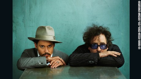 Johnny Depp and Tim Burton, Esquire, January 2008