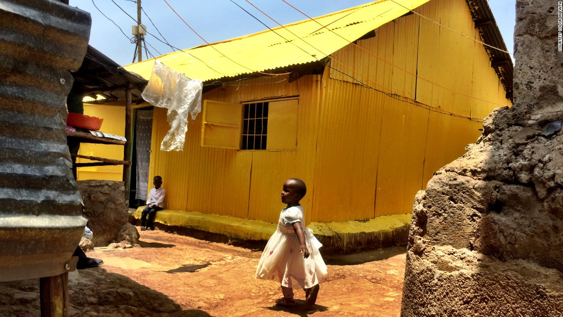Just nine places of worship have been painted across Kenya, but plans are underway for forty more mosques and churches to be painted.
